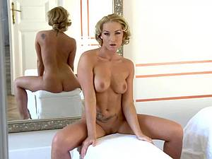Kathia cumming for her reflection
