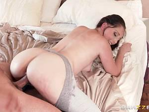 Nailed through the yoga pants like the dirty slut she is