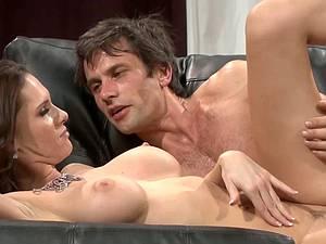Jennifer Dark gets her tits rocked
