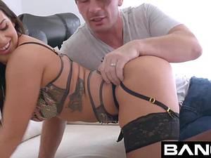 Big veiny shafts in her butt make Keisha Grey a happy girl