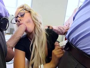Fucking the new office slut