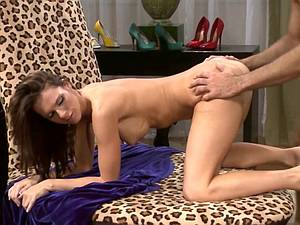 Jennifer Dark gets rear ended by a cock